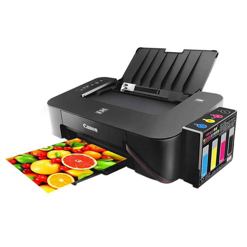 佳能ts208彩色喷墨照片打印机连供质量如何
