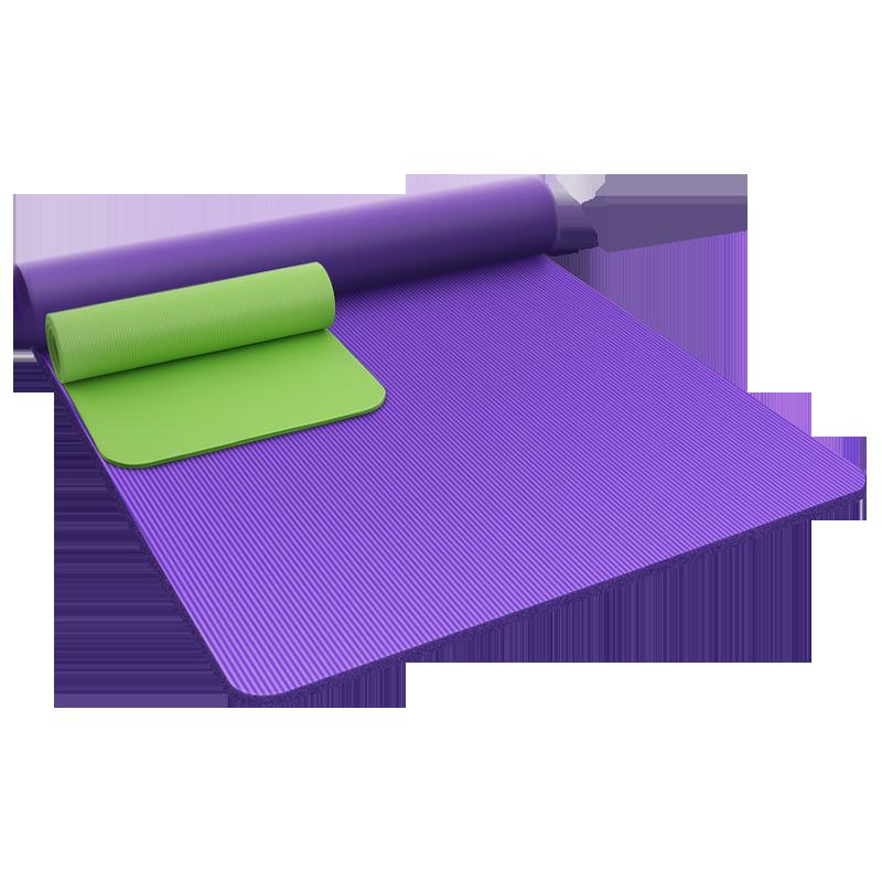 双人瑜伽垫超大瑜珈垫子地垫家用防滑加厚加宽加长初学儿童舞蹈垫