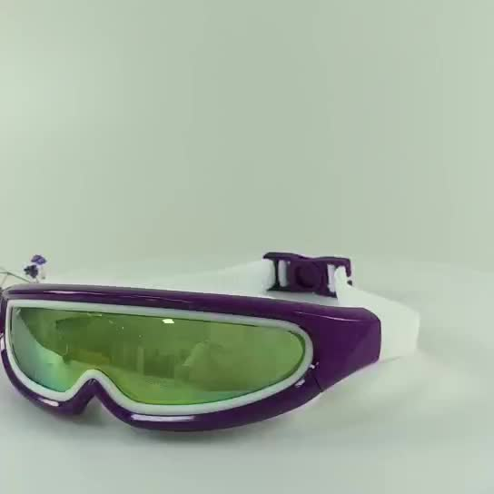 Wide view Silicone Swimming Goggles For kids