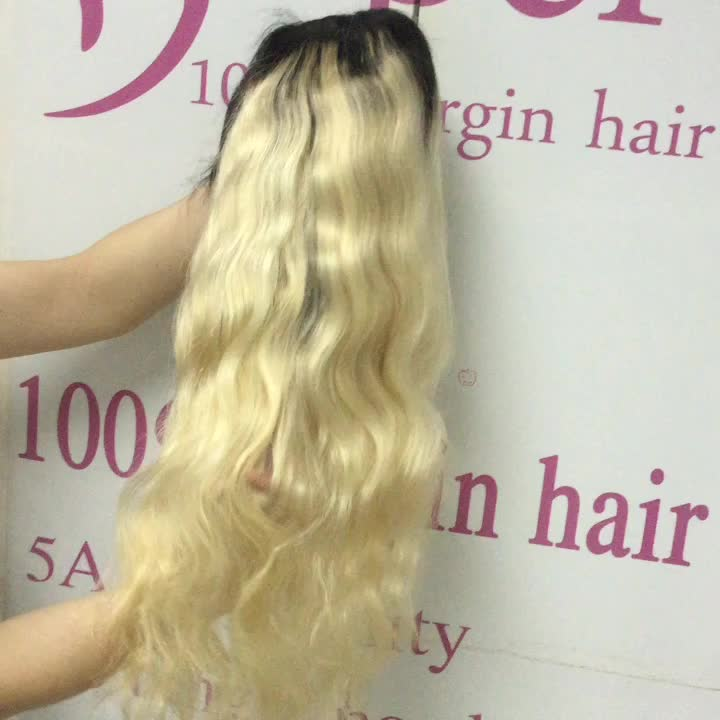 12inch Curly Body Wave Human Hair Long China Sex Woman Dreadlock 1b 613 Full Lace Wig Blond Ombre Wigs