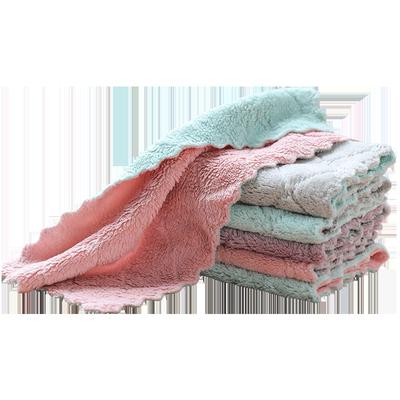洗碗布巾家务清洁厨房用品去油家用毛巾懒人抹布吸水不掉毛不沾油