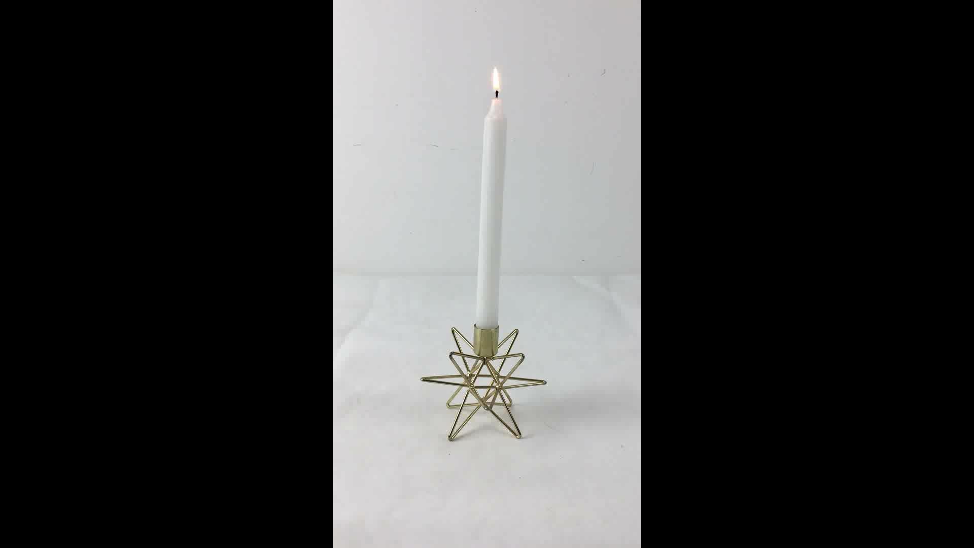 Ch-31728 Votive Christmas Wholesale Gold Metal Decorative ...