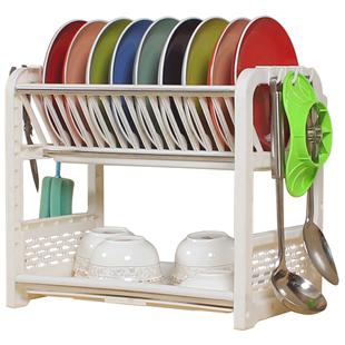 碗架碗柜碗碟盘塑料沥水装收纳盒