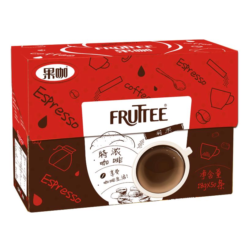 泰国原装进口 特浓咖啡三合一咖啡速溶咖啡粉18g*50条装 900g正品