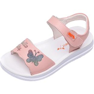 红蜻蜓2019夏季女童凉鞋儿童鞋子