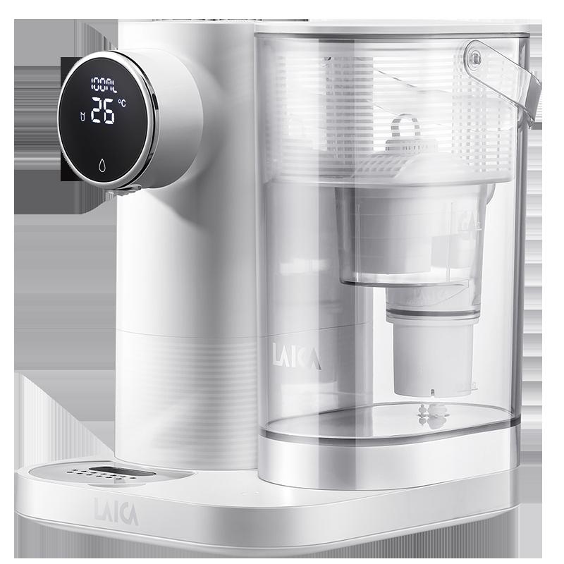 laica莱卡 家用除水垢直饮加热一体机台式饮水机自来水过滤净水器