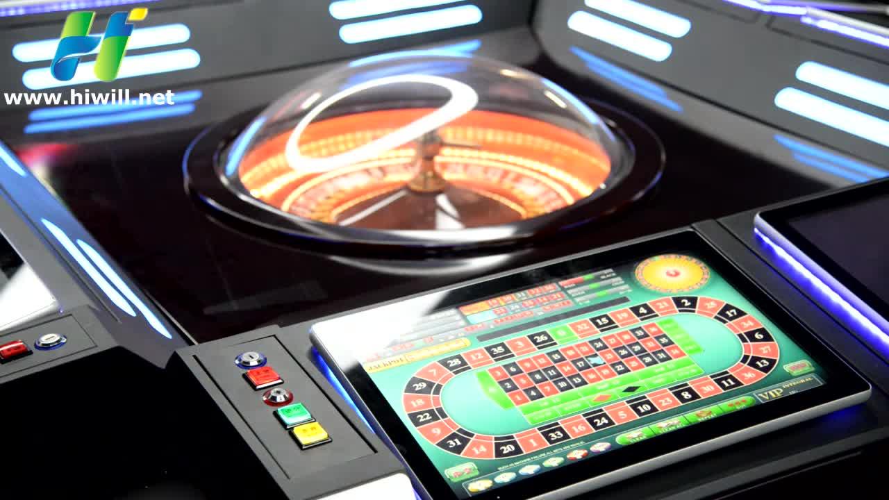 Casino Spiel Jackpot Automatisierten Roulette Maschine Tisch für Verkauf