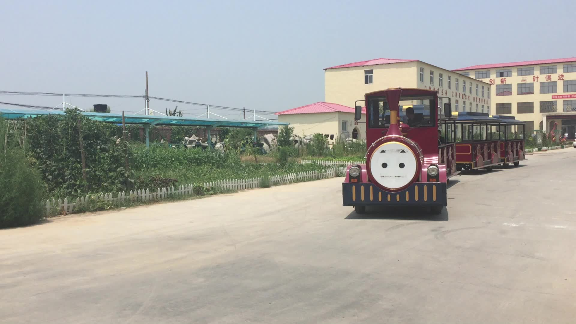 Ho Scale Model Train Used Amusement Park Trackless Train For Sale At  Wholesale Price - Buy Ho Scale Model Train,Used Amusement Park Trains For