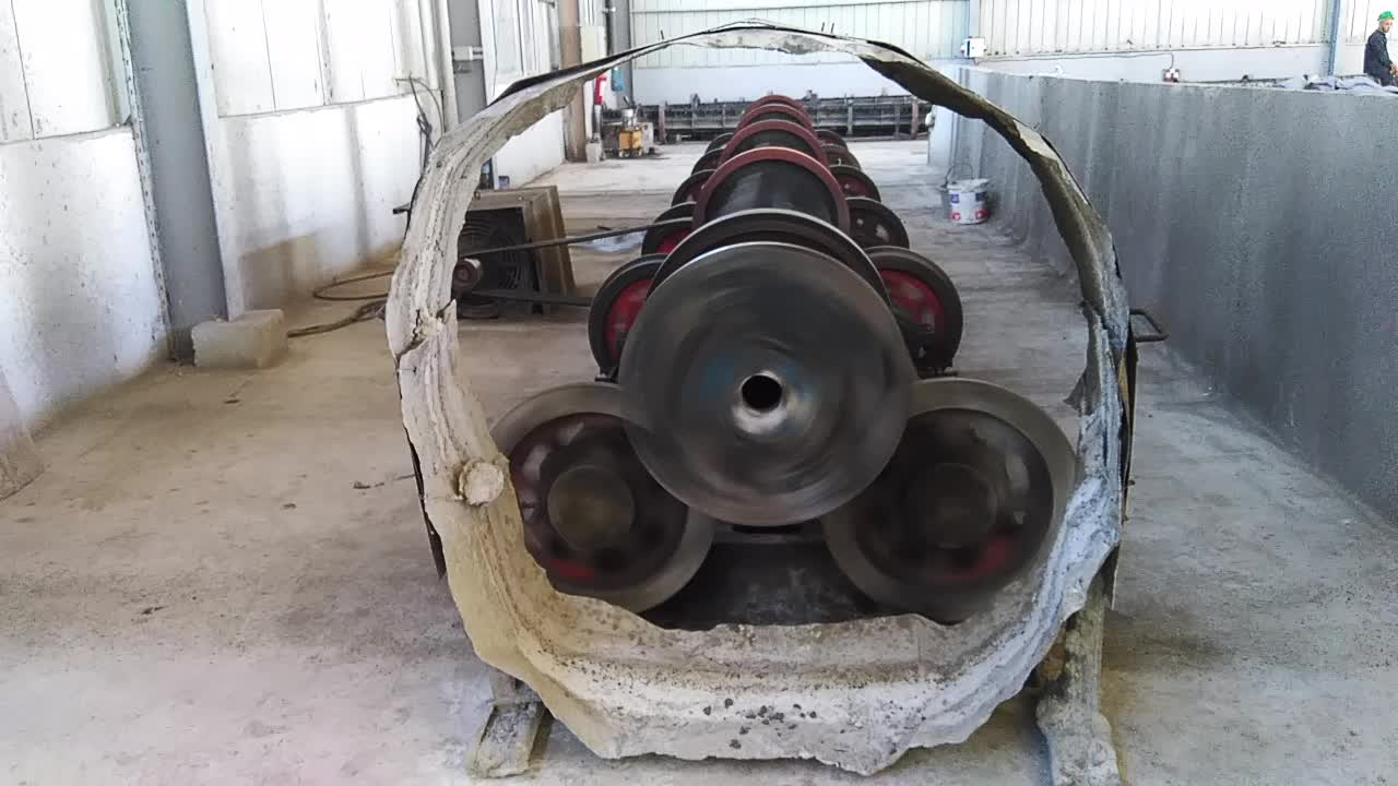 Concrete Pole Weights : Automatic centrifugal spinning concrete pole machine buy