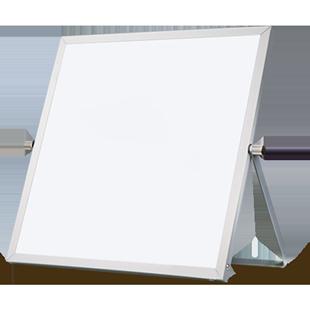 汪同和便攜桌面小白板兒童辦公家用學生迷你寫字畫板雙面留言黑板