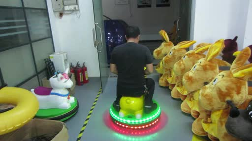 GM51 adult electric video games used ride on toys mechanical animal ride for kids