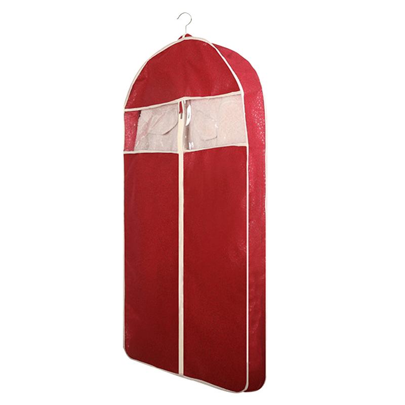 皮草防尘罩透气挂衣袋子家用衣柜衣服套防尘套貂皮防尘罩悬挂式