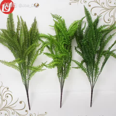 SFL93006 Christmas decorative tree branches plastic cypress stem green cypress leaves with pinecone