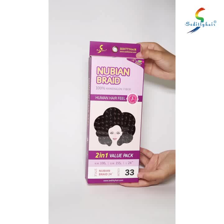 Alibaba Express Wholesale Synthetic Hair Super Cheap And Nubian
