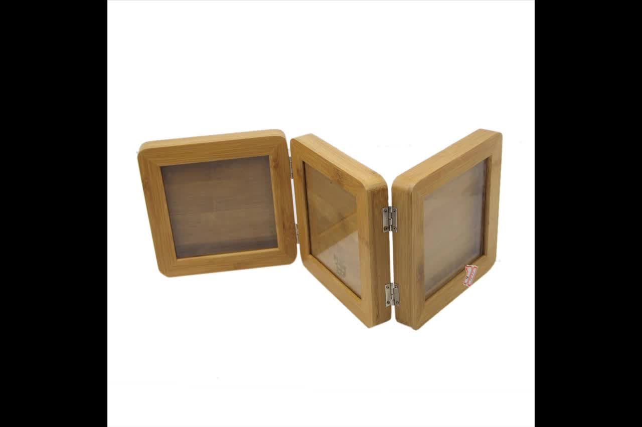 Cheap accept custom solid wooden photo frames