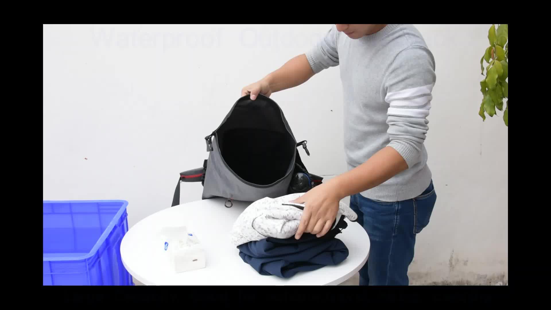 2018 New Design TPU Float Hiking Camping Outdoor Sports Travel Dry Sack Waterproof Shoulder Bag Outdoor Shoulder Backpack