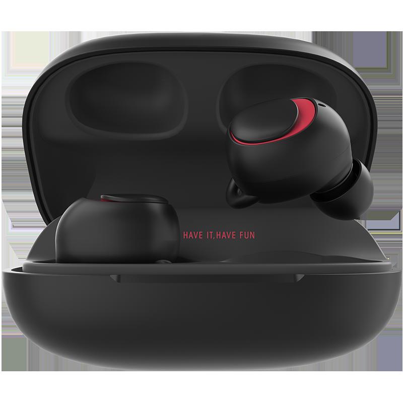havit/海威特i93双耳无线蓝牙耳机迷你超小隐形手机入耳式运动7plus微型X挂耳适用oppo苹果vivo通用型iPhone8