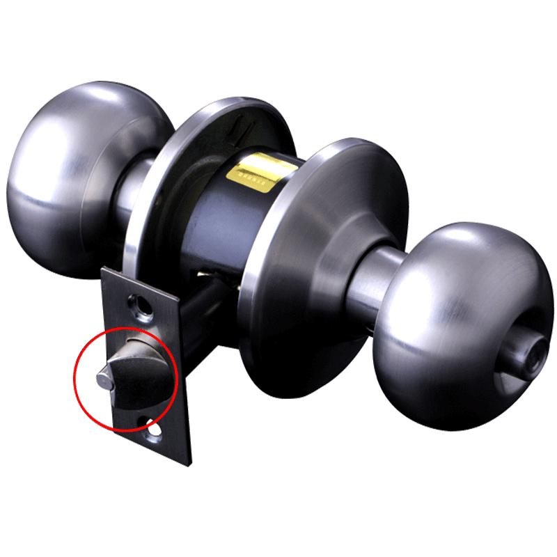 德莱球形门锁室内门锁不锈钢木门卫生间通用型圆球卧室房门球形锁