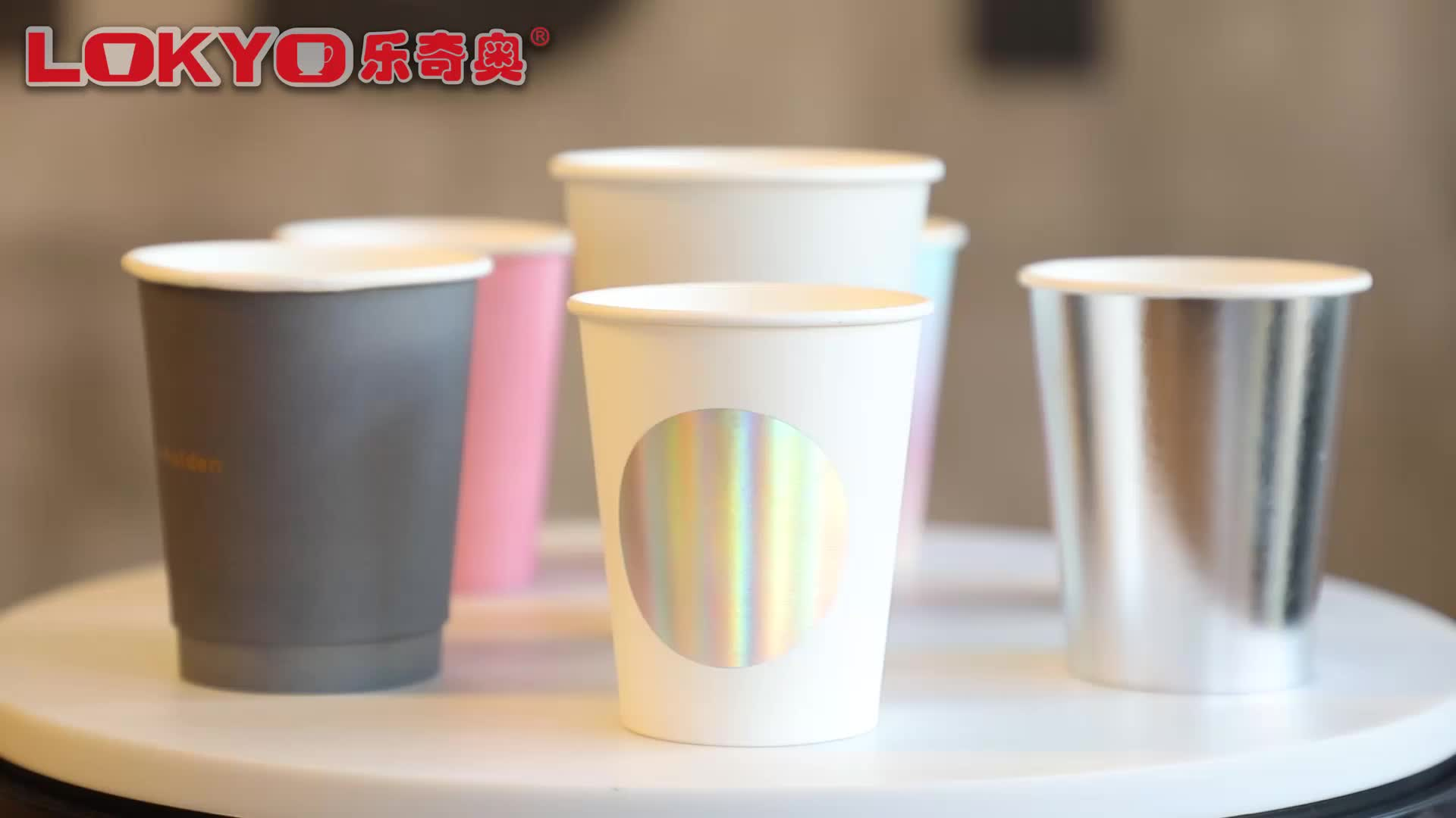 Disposable Paper Cup Double Wall 16OZ