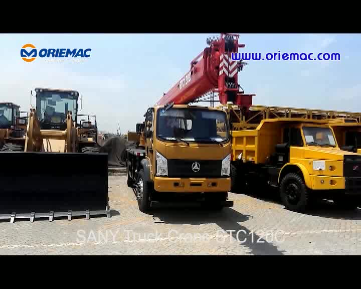 Chine Fournisseur SANY STC1000C Camion Grue 100 Tonnes Grue Prix 5 tonnes camion grue
