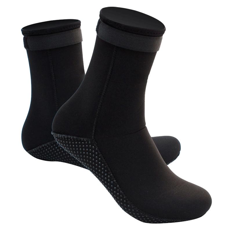 飞鱼潜水袜子鞋浮潜袜套加厚保暖防滑珊瑚3MM男女成人装备潜水袜