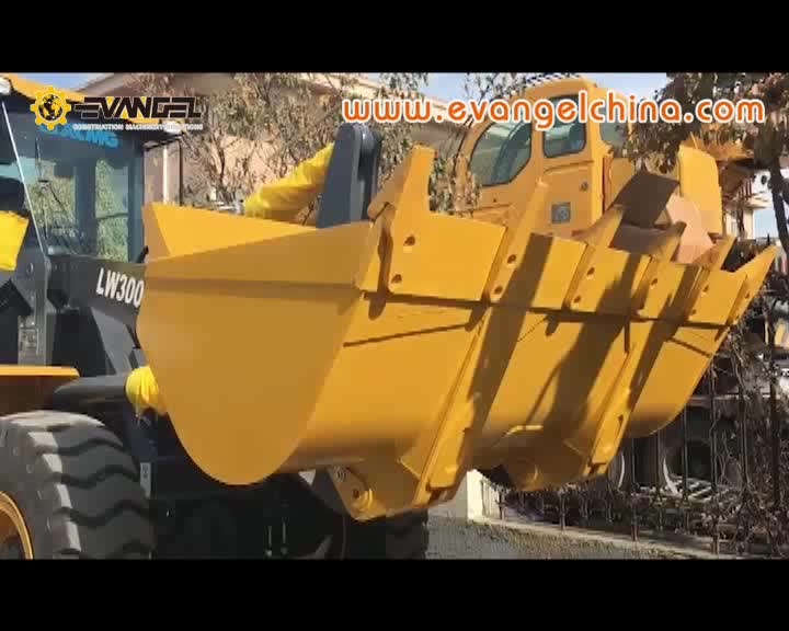 XCMG brand Safe and reliable 3 ton wheel loaders LW300KN
