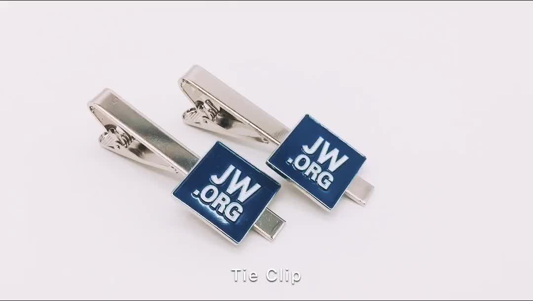 Jw.Org Lapel Pin/Cufflinks/Tie clip With Made Molds Lapel Pin Manufacturers China