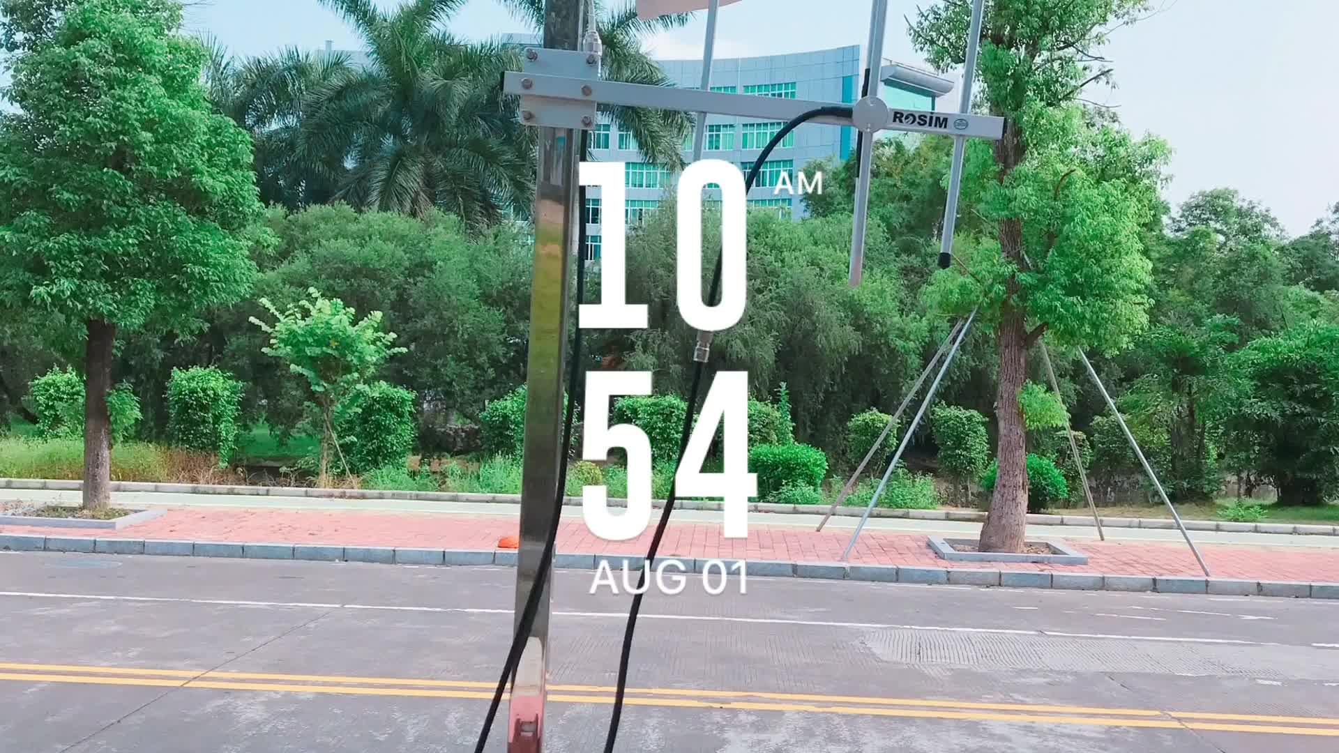 Rosim neuester Lora intelligenter Parkplatzsensor für das Parksystem