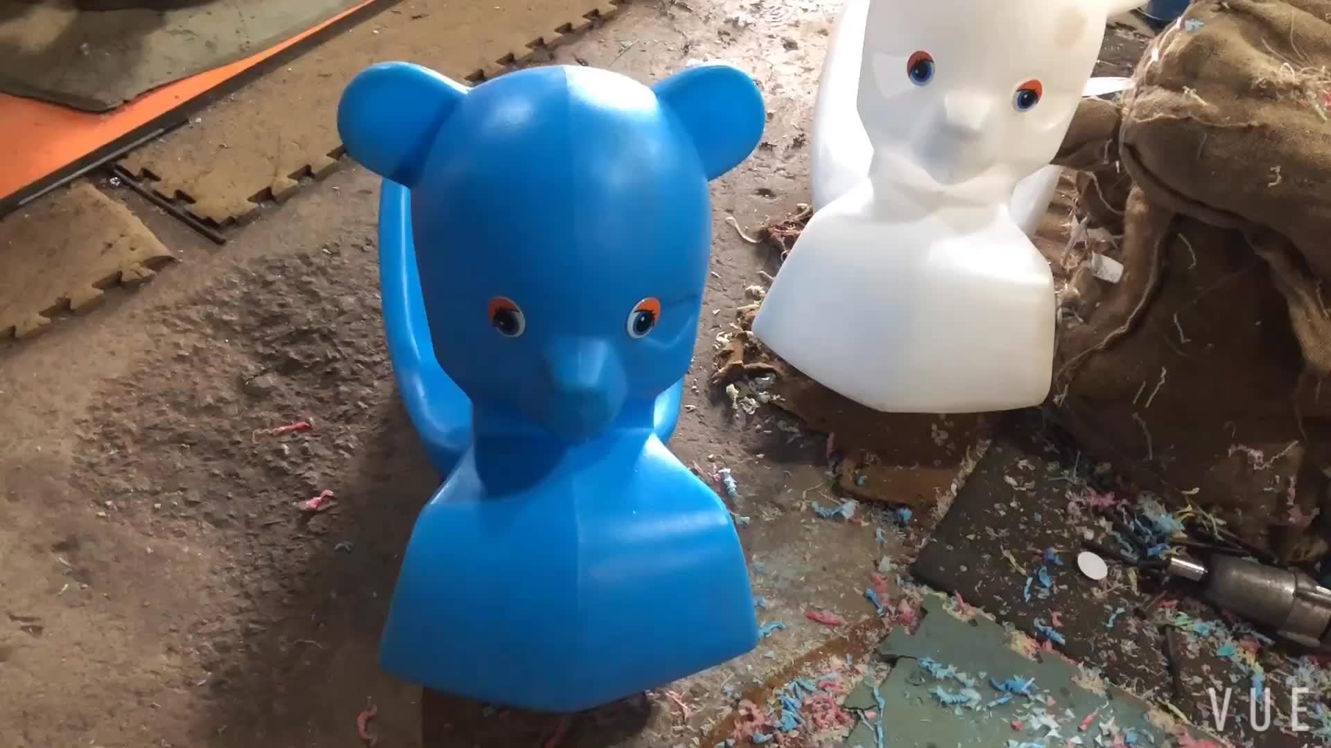 TK Mainan Plastik Desain Hewan Kuda Goyang Mainan Anak-anak Bermain Naik Mainan