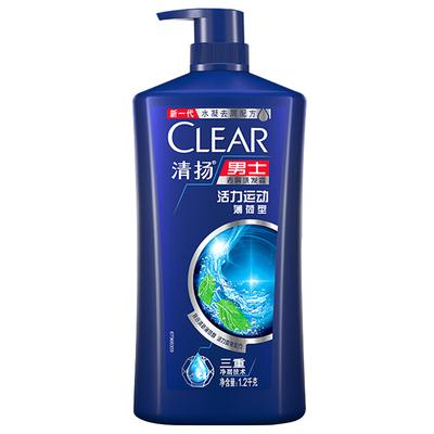清扬洗发水露男士专用正品官方旗舰店品牌洗头膏去屑止痒控油蓬松