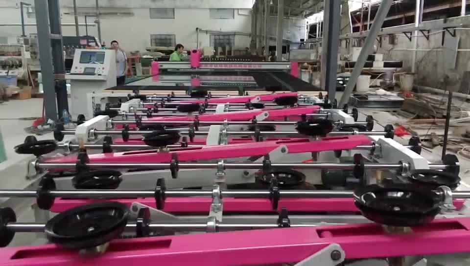 Cam işleme makineleri, tam otomatik cam kesme üretim hattı