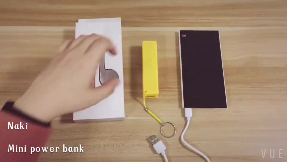 Wholesale Universal portable mini Perfume 2600 mAh mobile phone charger power bank for iphone 6 6s 7 8 plus X Xr Xs max