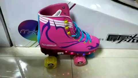 Hot Sale adjustable outdoor 4 wheel roller skate
