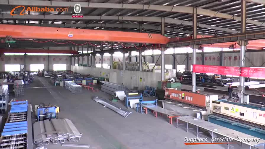 Industrial shed design prefabricated steel structure factory