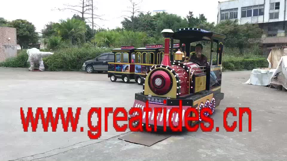 Funny Amusement Park Equipment Miniature Thomas Steam Trackless Train Rides  For Sale - Buy Amusement Park Trackless Train For Sale,Steam Trackless