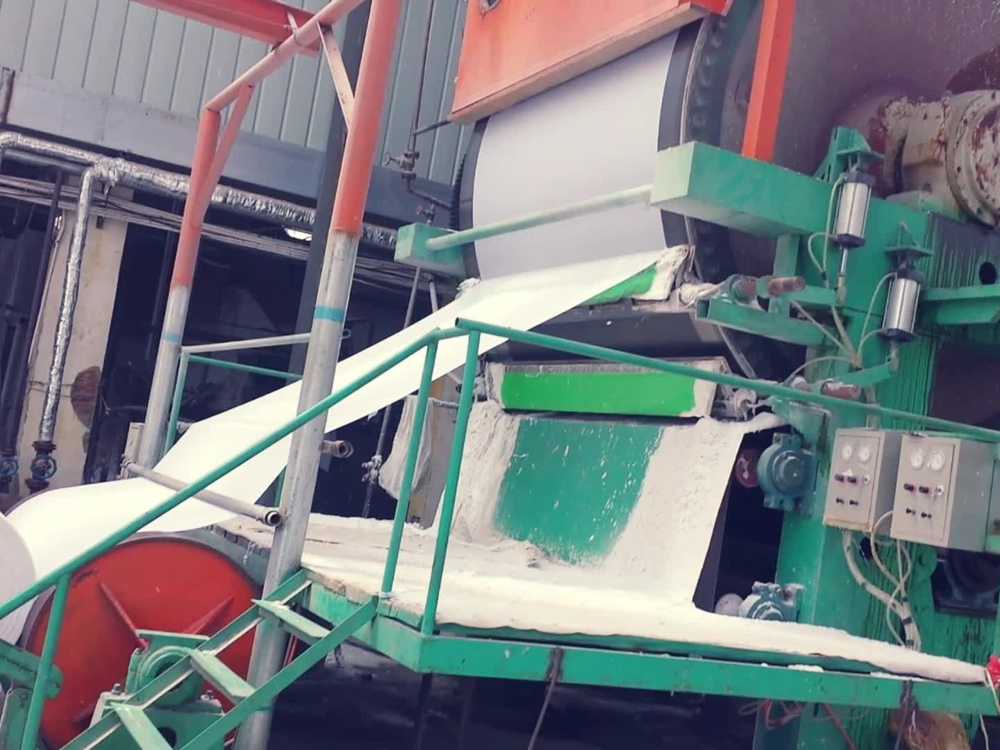 China henan guangmao recycled paper machine, toilet