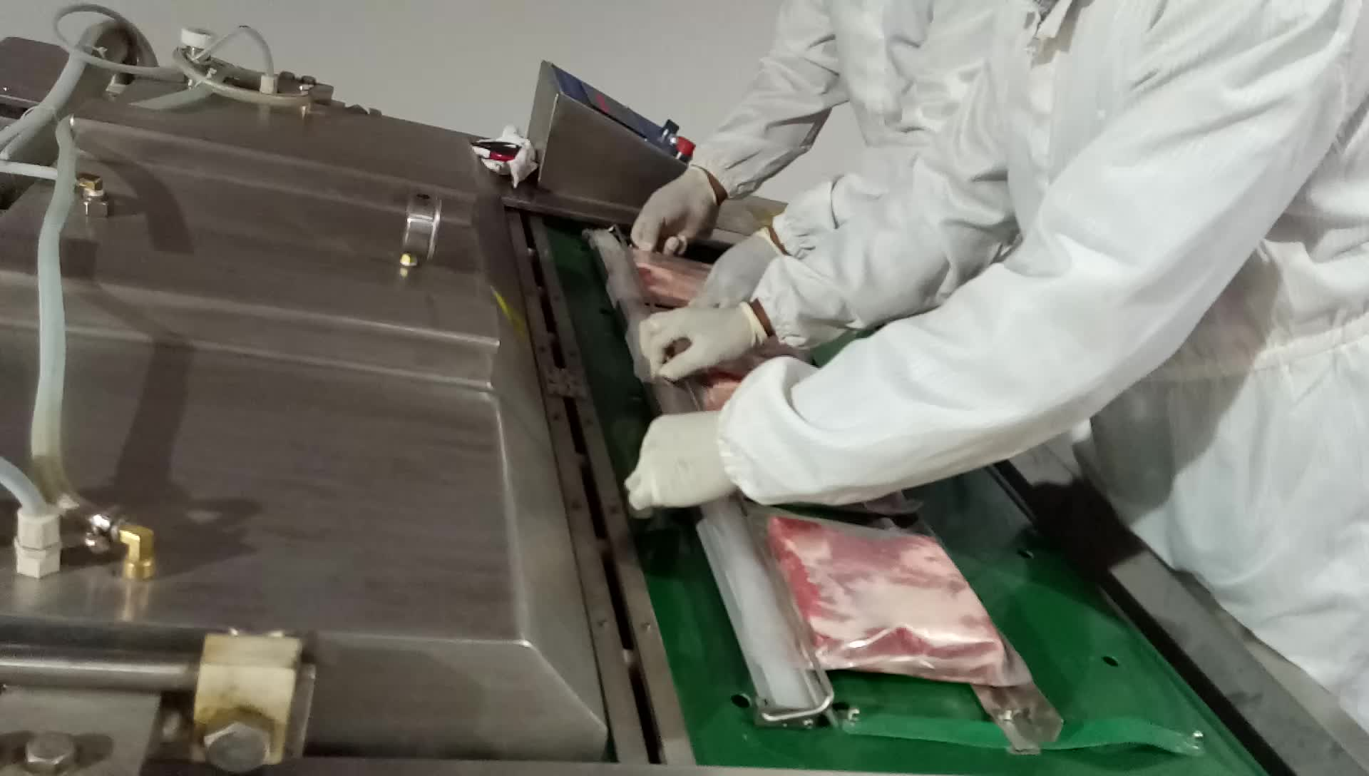 Kecil babi pembantaian pabrik pengolahan daging