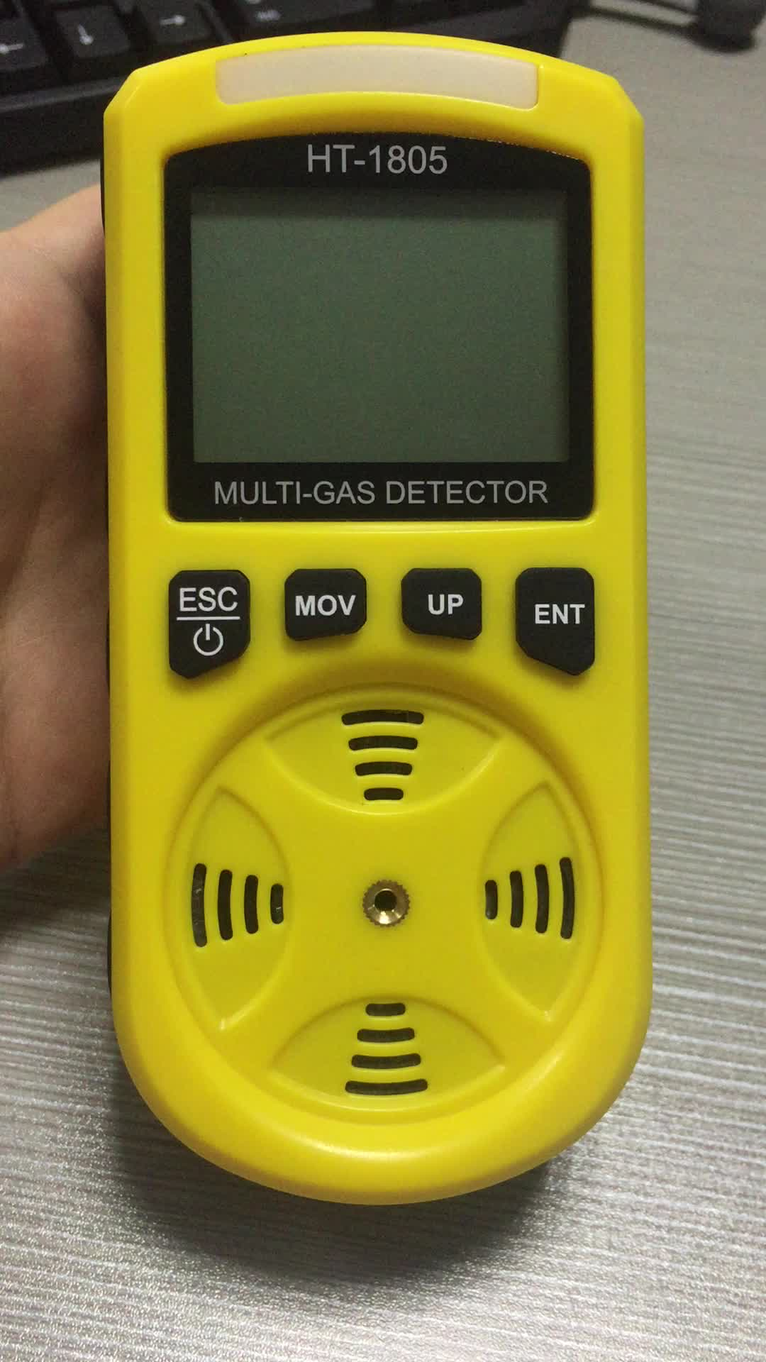 HT-1805 Combustible Gas/H2S/CO/O2 4 IN 1 Portable Gas Detector