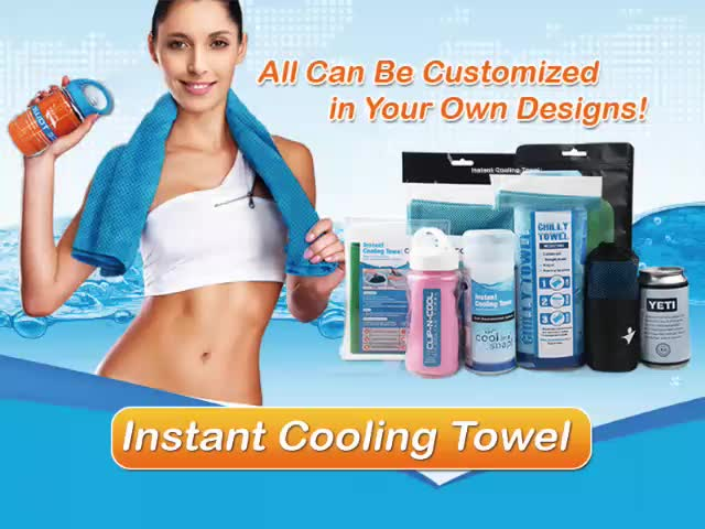 Custom Magic Cold Towel Sport Cooling Ice Towel Manufacturer