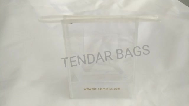 Clear PVC Cosmetic Bag Used As Promotion Gift Bag