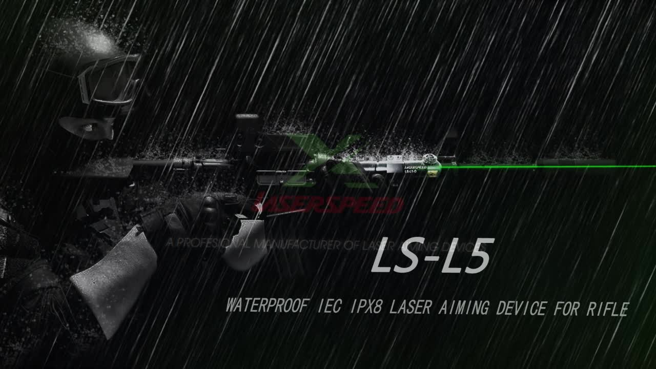 Outdoor 532nm waterproof lasers for rifle hunting