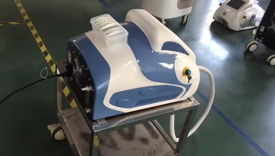 2 in 1 ipl Haaren tfernungs gerät mit kühlendem RF-System intensives Puls licht ipl Hauts traffung Falten entfernung Facelift ing