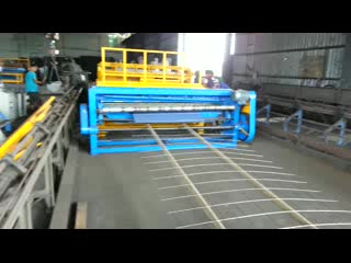 Full automatic welded steel mesh machine