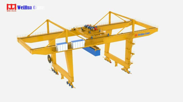 More Than 50 Oversea Countries Agents 35 Ton 50 Ton Port Container Gantry Crane Cost