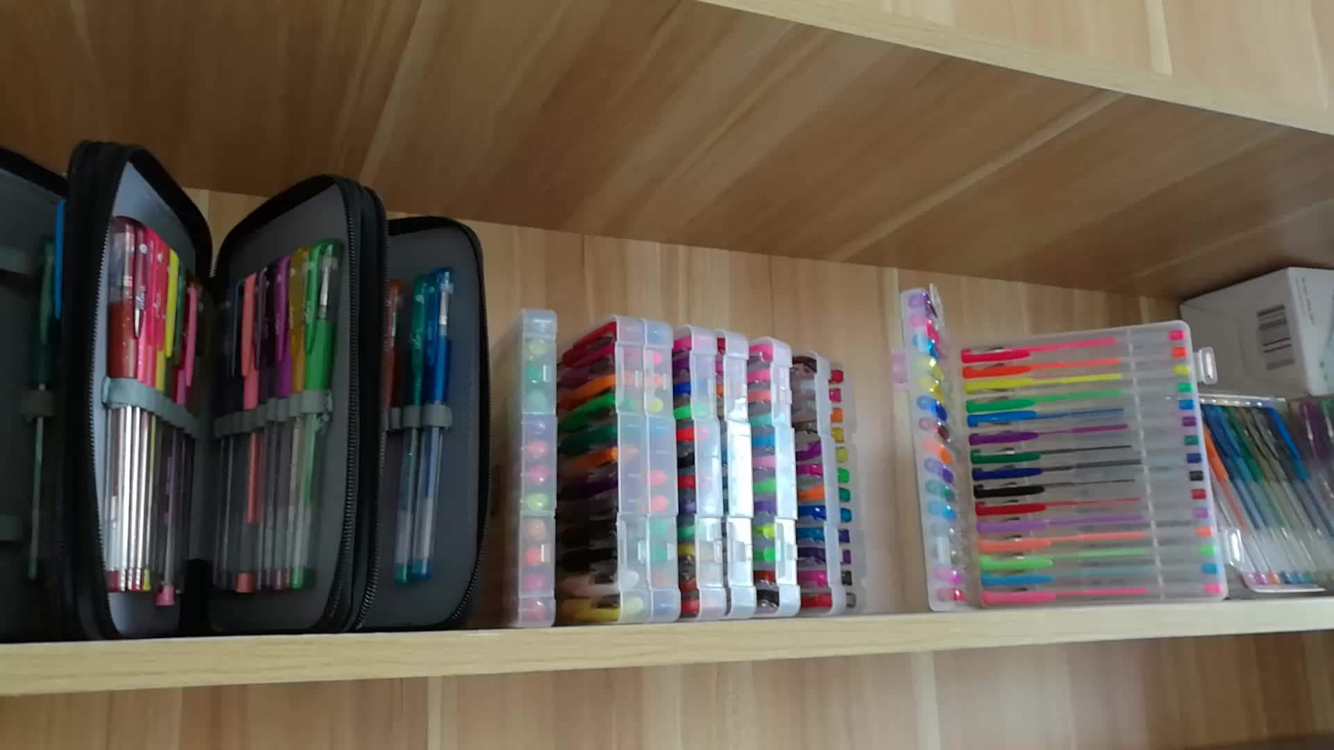 20 color set water based brush pen