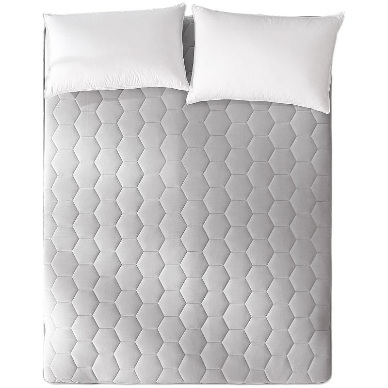 水星家纺石墨烯抗菌加厚床垫租房用好不好用