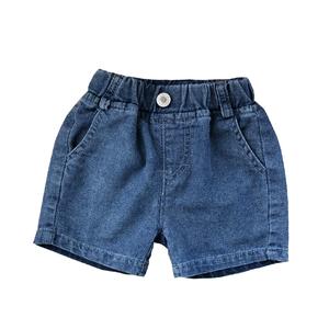 宝宝牛仔男裤宽松洋气可开档短裤