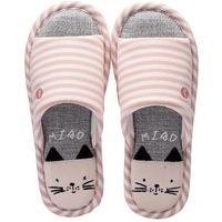 亚麻女春秋季室内居家情侣凉拖鞋质量靠谱吗