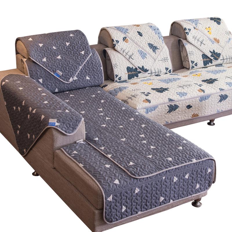 沙发垫四季通用夏天防滑欧式简约现代沙发套全包万能套巾罩坐垫子