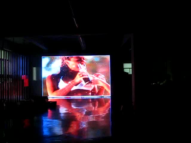 P10 SMD3535 outdoor 4m x 3m advertising led screen display